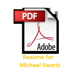 Resume of Michael Swartz